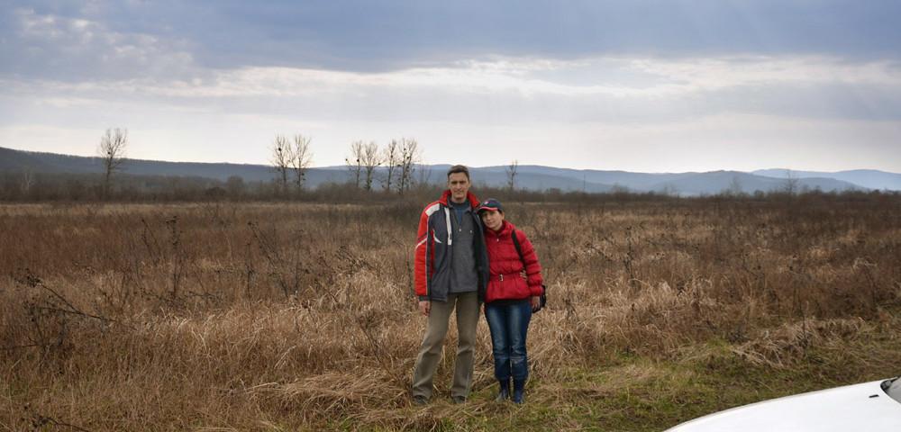 Сергей Руденко, Анна Донатова - на одной из полян Сказочного Края.