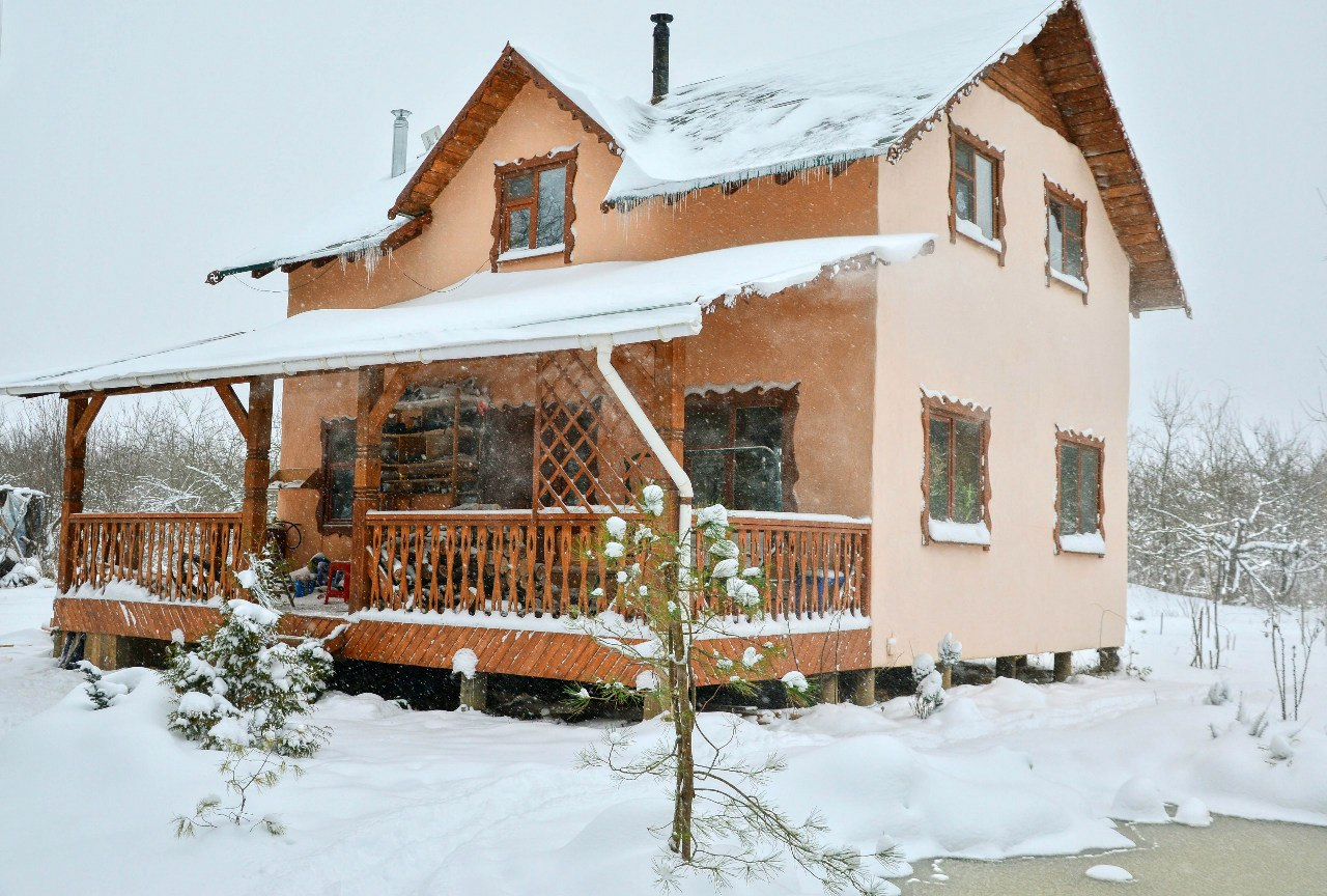 Дом в поместье АгудариЯ, февраль 2016 года.